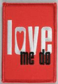 The Beatles - 'Love Me Do' Embroidered Patch